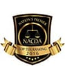 National premier NACDA top ten ranking 2016